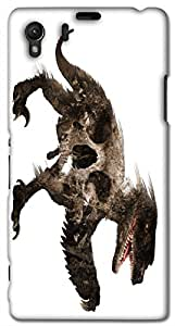 Timpax protective Armor Hard Bumper Back Case Cover. Multicolor printed on 3 Dimensional case with latest & finest graphic design art. Compatible with Sony L39H - Sony 39 Design No : TDZ-28128