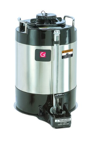 Grindmaster-Cecilware AVS-1.0A Vacuum Insulated Shuttle, 1.0-Gallon, Black with Stainless Steel