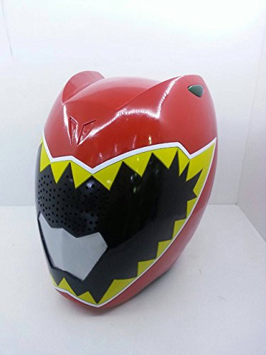Mighty Morphin Power Rangers Red Dino Charge Helmet