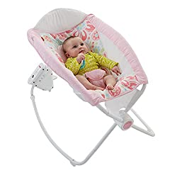 Fisher-Price Newborn Auto Rock 'n Play Sleeper, Floral Confetti