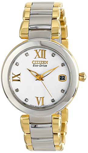 Citizen Signature Collection Marne Stainless Steel - Two-Tone Women's watch #EO1114-52A