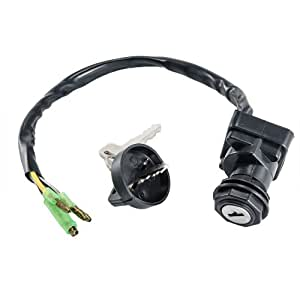 ignition key switch for kawasaki klf220 a. Black Bedroom Furniture Sets. Home Design Ideas