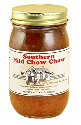 Byler's Relish House Homemade Amish Country Southern Mild Chow Chow 16 oz.