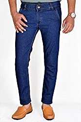 Routeen Men's Dark Blue Slim Fit Denim Jeans (JTMDRLD6000MB_30)