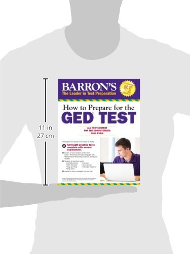 How to Prepare for the GED Test: All New Content for the Computerized 2014 Exam (Barron's Ged (Book Only))
