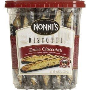 Amazon.com: Nonni's Cioccolati Biscotti, Individually Wrapped 1.33oz