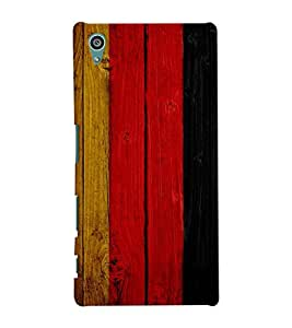 GADGET LOOKS PRINTED BACK COVER FOR SONY XPERIA Z5 MULTICOLOUR