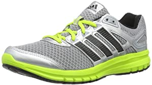 Adidas Performance Mens Duramo 6 M-2 Running Shoes D66272 Mid Grey/Black I/Solar Slime 9 UK, 43 EU