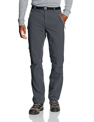 Columbia Men's Titan Peak-Pantaloni grigio grafite Size32/32/32