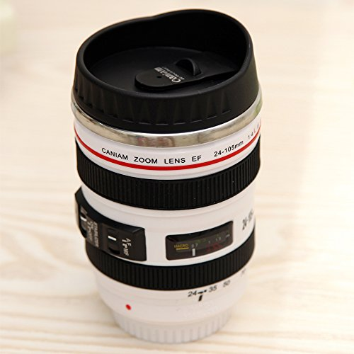 Camera Lens Mug Canon 12 Oz Travel Coffee Cup Tea Mug