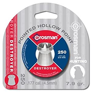 Crosman Destroyer .177 Cal Hunting Pellet (250 ct)