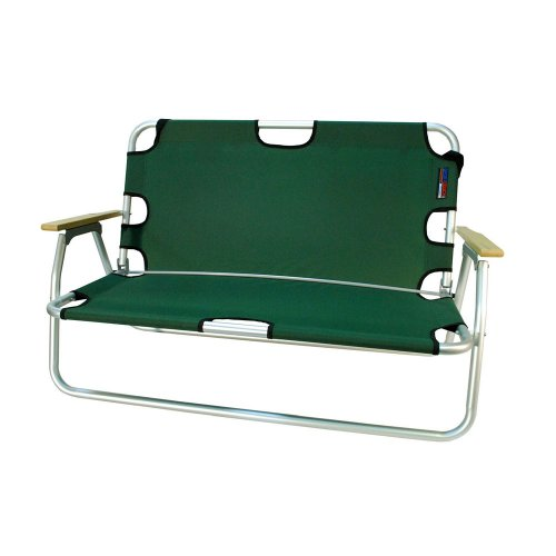 Algoma 7726-28 37-Inch W by 16-Inch D Sport Couch, Hunter Green
