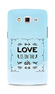 AMEZ Love is in the Air Back Cover For Samsung Galaxy Grand Max
