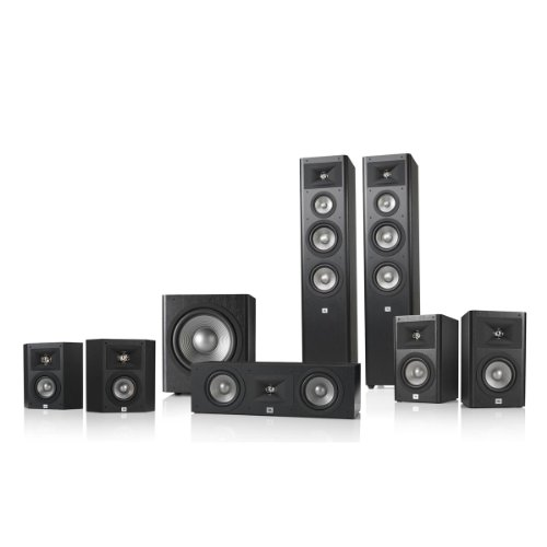 Jbl Studio 280 7.1 Home Theater Speaker System Package (Black)