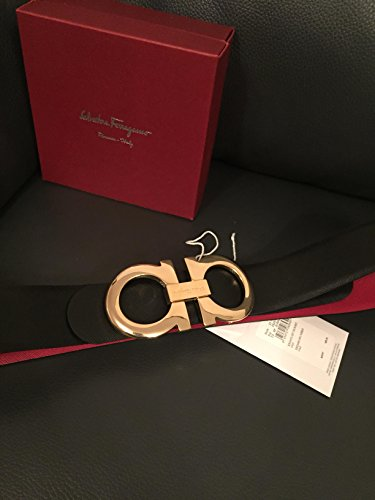 salvatore-ferragamo-black-red-reversible-big-gold-buckle-belt-100cm-34-36