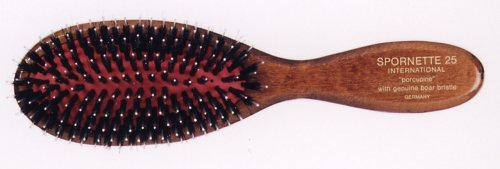 Spornette Classic Cushion Porcupine Oval Boar and Nylon Bristles Hair Brush (Boar Nylon Hair Brush compare prices)