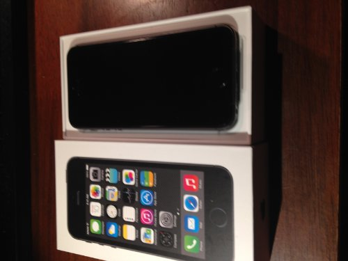 New Factory Unlocked ~ 32Gb Space Gray Apple Iphone Five-S ~ Black Fast Shipping Ship Worldwide Special Gift To Everyone