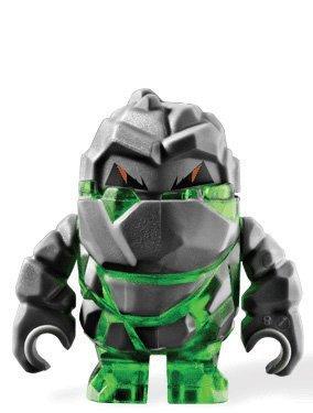 LEGO Rock Monster Boulderax (Trans-Green) – Power Miners Figur günstig