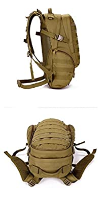 Military 20L Tactical Backpack Hiking Camping Unisex Outdoor Waterproof Bag