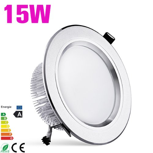 15W Panel Led 5730 Smd Ceiling Downlight Recessed Light Lamp Bulb Warm White