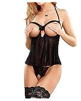 E-Girl femme R78131 ensembles de lingerie sexy robe erotique Nuisettes,String