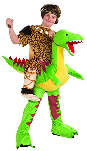 Dino and Cave Boy Rider Costume