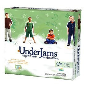 Pampers UnderJams Night Wear For Boys, Size 8- L/XL- 13 each