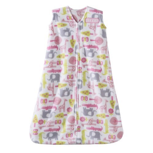 HALO SleepSack Wearable Blanket Microfleece - Pink Jungle (Medium) - 1