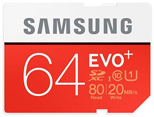 samsung-speicherkarte-sdxc-64gb-evo-plus-uhs-i-grade-1-class-10-fur-foto-und-video-kameras