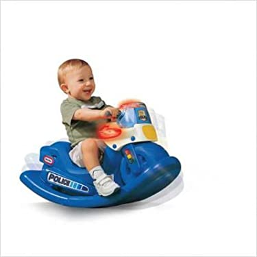 Small Tikes Police Cycle Sounds Rocker