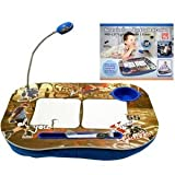 LAPTOP CUSHION PORTABLE READING LAP TOP TRAY TABLE WITH 5 LED LIGHT & CUP HOLDER PORTABLE BOY