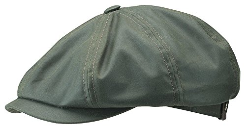 stetson-hatteras-waxed-newsboy-cap-59-olive-apparel