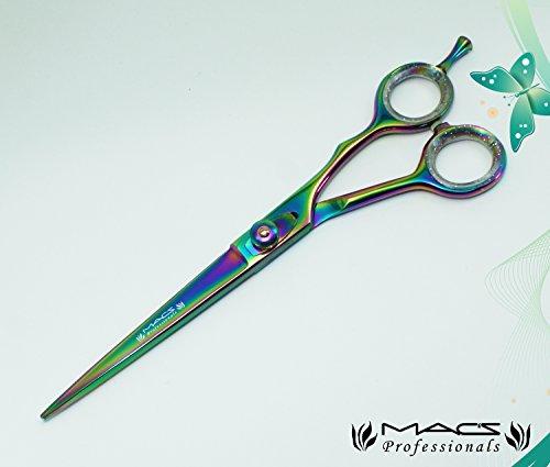 Macs Professional Titanium Barber Razors Edge Hair Cutting Shears 5.5