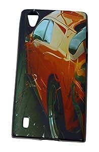 BKDT Marketing Premium Printed Soft Back cover for Lava Iris X9