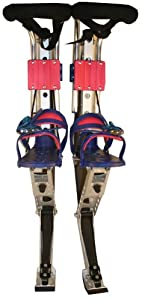 PowerStrider Sport (Blue) (1 Pair Stilts) (Up to 173 Lbs.)