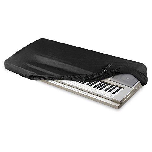Find Discount AZMUSIC Protective Dust Cover for Electronic Keyboard and Digital Piano, Fits 76 to 88...