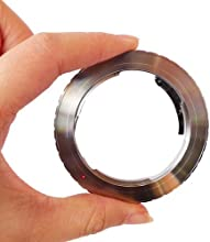 Camkitmate Camera Lens Adapter Ring For EMF AF Confirm Pentax PK Lens To Canon EOS EF Adapter