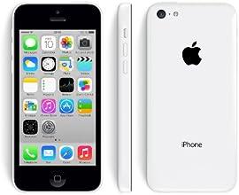 Apple Iphone 5C Smartphone débloqué 4G (Ecran: 4 pouces - 16 Go - Débloqué- iOS) Blanc (Reconditionné Certifié Grade A+)
