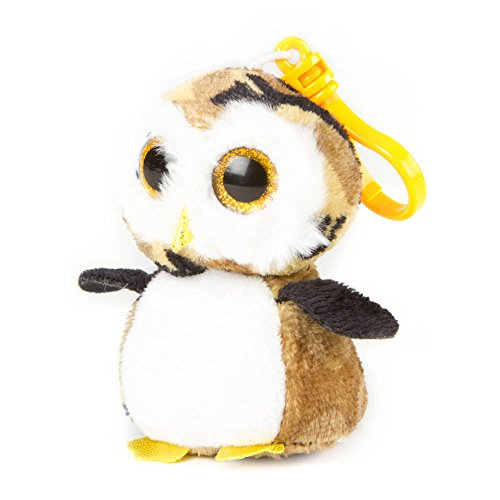 "Claire's Accessories Ty Beanie Boos Owliver the Owl Plush Clip On - 4"" - 1"