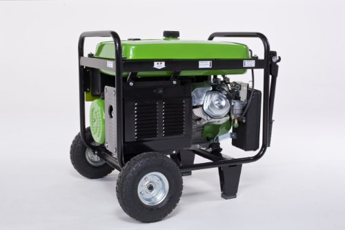 Lifan Lifan Energy Storm ES8000E 8000 Watt Lifan 15 HP 420cc 4-Stroke OHV Gas Powered Portable Generator with Electric Start and Wheel Kit with Never-Flat Foam Filled Tires