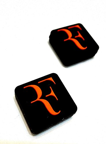 """RF"" Logo Silicone Vibration Dampeners Collection for Tennis Squash Racket Pack of 2 - 1"