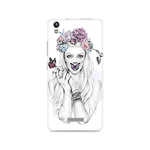 Mobicture Girl Abstract Premium Printed Case For Lava Pixel V1