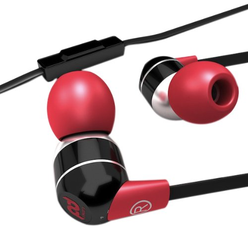 Sms Audio Sms-Pd-Eb-001 Dj Pauly D Wired In-Ear Headphones - Black And Red