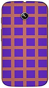 Timpax protective Armor Hard Bumper Back Case Cover. Multicolor printed on 3 Dimensional case with latest & finest graphic design art. Compatible with Motorola Moto -E-1 (1st Gen )Design No : TDZ-22876