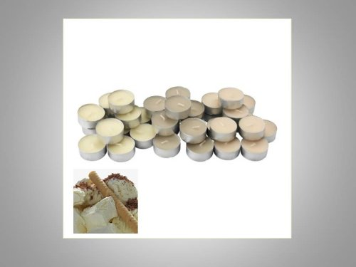 IKEA TINDRA 36 PK SCENTED TEA LIGHTS CANDLES TEALIGHTS CHOOSE FROM 6 FRAGRANCES (NATURAL VANILLA)
