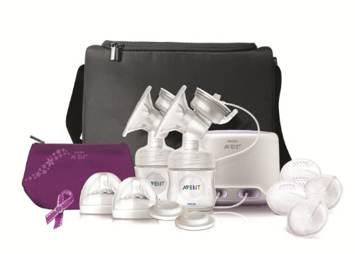 Review Philips Avent Double Electric Comfort Breast Pump