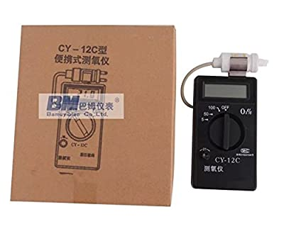 Portable Oxygen Concentration Content Tester Meter Detector