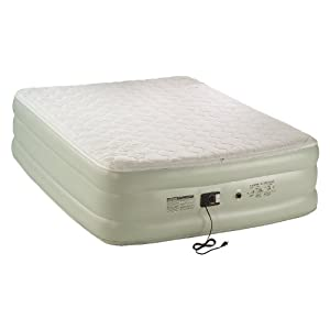 Coleman Premium Double-High QuickBed with Pillow Top and Built-In Pump, Queen by Coleman