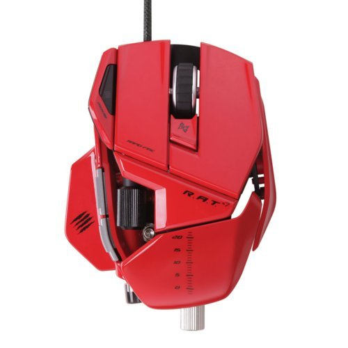 Mad Catz R.A.T.7 Red