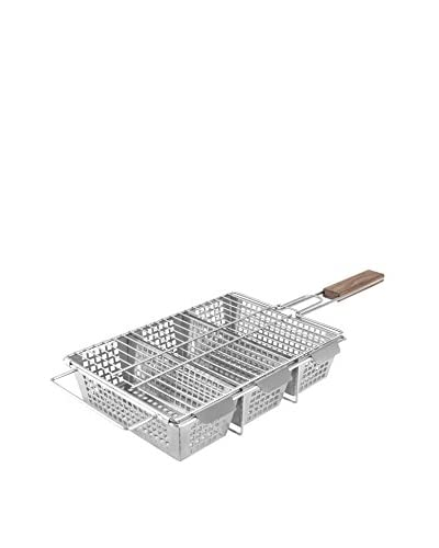 Charcoal Companion Stainless 3-Compartment Basket